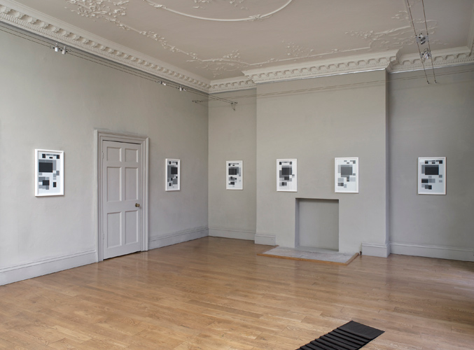 James Brooks 'The Information Exchange' installation view, 2012