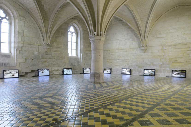 Marcel Dinahet at L'Abbaye de Maubuisson, installation view, 2010–2011.
