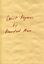 Lucy Pawlak's 'Sexist Rhymes by Bearded Man'