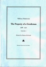 'William Marwick: The Property of a Gentleman 1768 – 1770' by Sharon Kivland